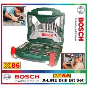 bosch 86 piece x line drill and screwdriver bit set. Black Bedroom Furniture Sets. Home Design Ideas