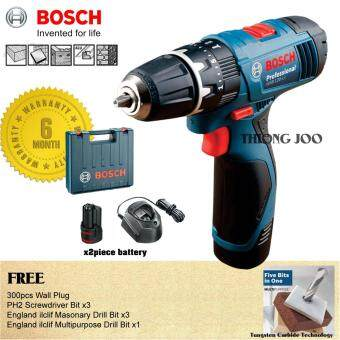 Bosch GSB 120 LI Cordless Impact Drill 12V (drill wall, wood, metal, tiles) [6 Month Warranty]