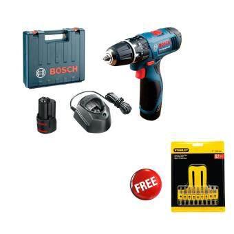Bosch GSB 120-LI Professional Cordless Impact Drill FOC Stanley Insert Bit