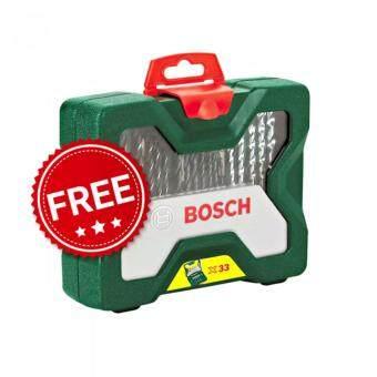 Bosch GSR 120-LI Cordless Drill/Driver Professional 12V + Bosch #2607019325 X-Line 33-Piece Drill Bit and Screwdriver Bit Set