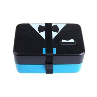 Bow Tie Bento Lunch Box - Microwavetable - 2