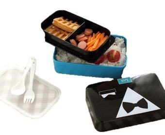 Bow Tie Bento Lunch Box - Microwavetable - 3