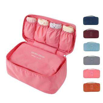 Bra Underwear Storage Bag Travel Bag Trip Handbag Luggage TravelingBag Pouch Case Suitcase Space Saver Container Bags