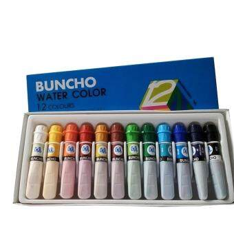 Harga BUNCHO WATERCOLOUR 6CC 12 COLOUR