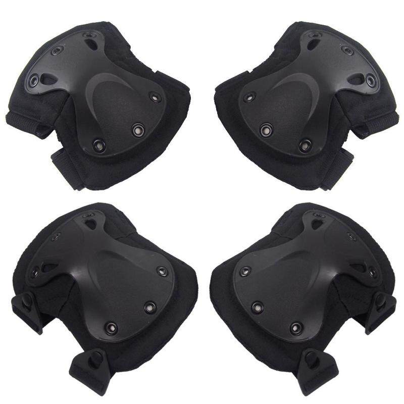 Buy BuyBuy 4PCS Outdoor Sports Knee & Elbow Pads Climbing Mountains Bycicle Knee Cap Knee Support Protector Malaysia