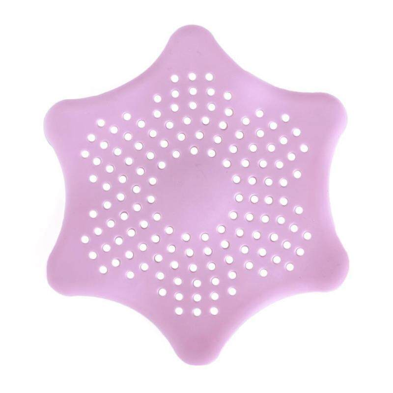 Buy BUYINCOINS New Design Six Sides House Bedroom Floor Drain Hair Stopper Bath Catcher Sink Strainer Sewer Pink Malaysia
