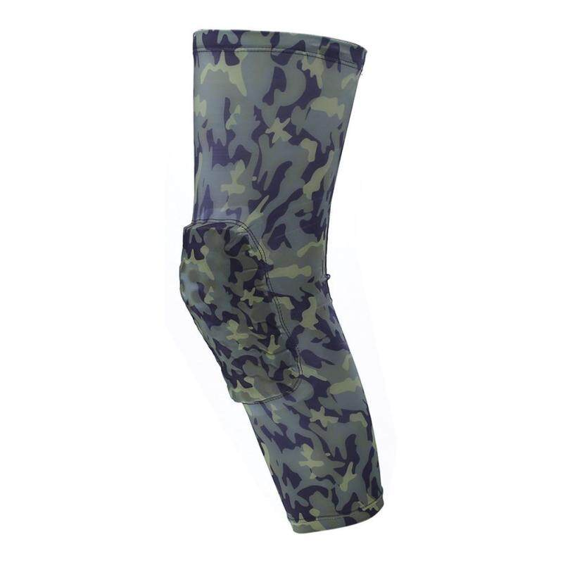 Buy Camouflage Pro Breathable Honeycomb Climb Outdoors Sports Knee Brace Guard(Army Green)-Int:XL Malaysia
