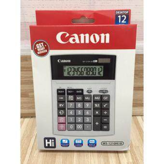 Harga Canon WS-1210Hi III Calculator