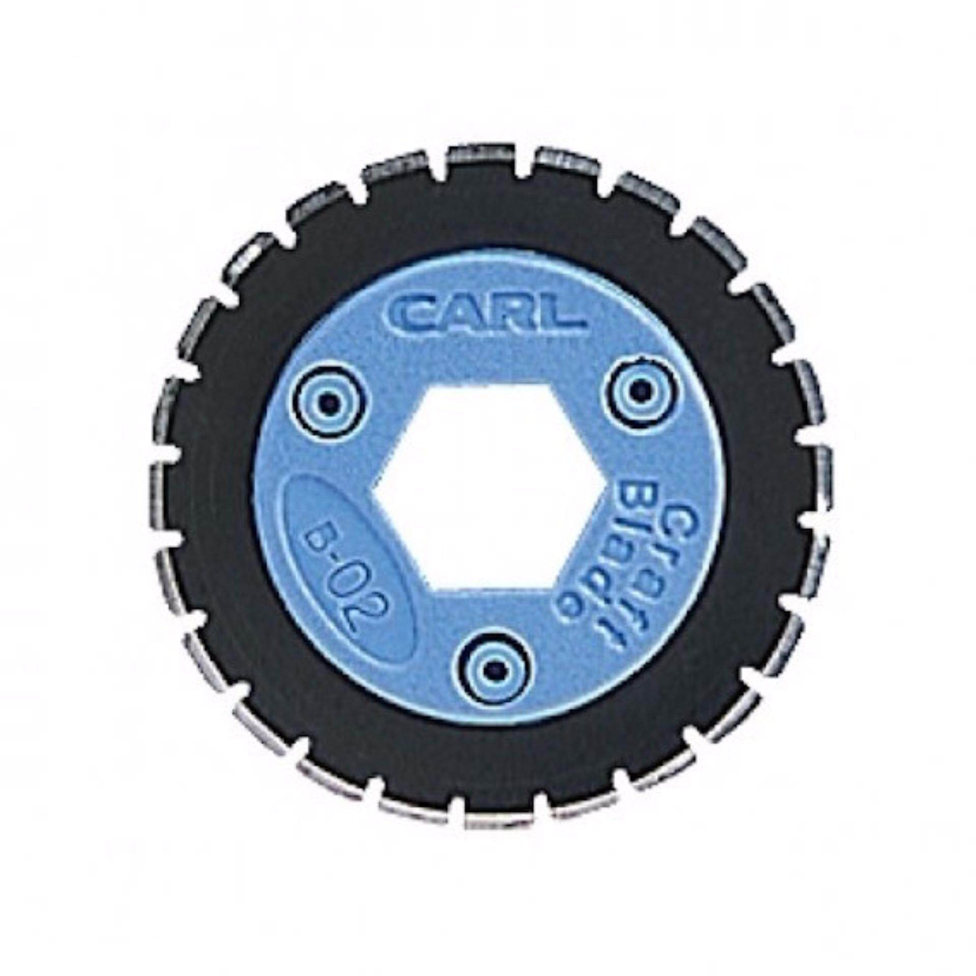 CARL B-02 CUTTER BLADE FOR DC-212&DC-218 - PERFORATION