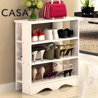 Harga Casa Alba Shoes Rack 3 tier White