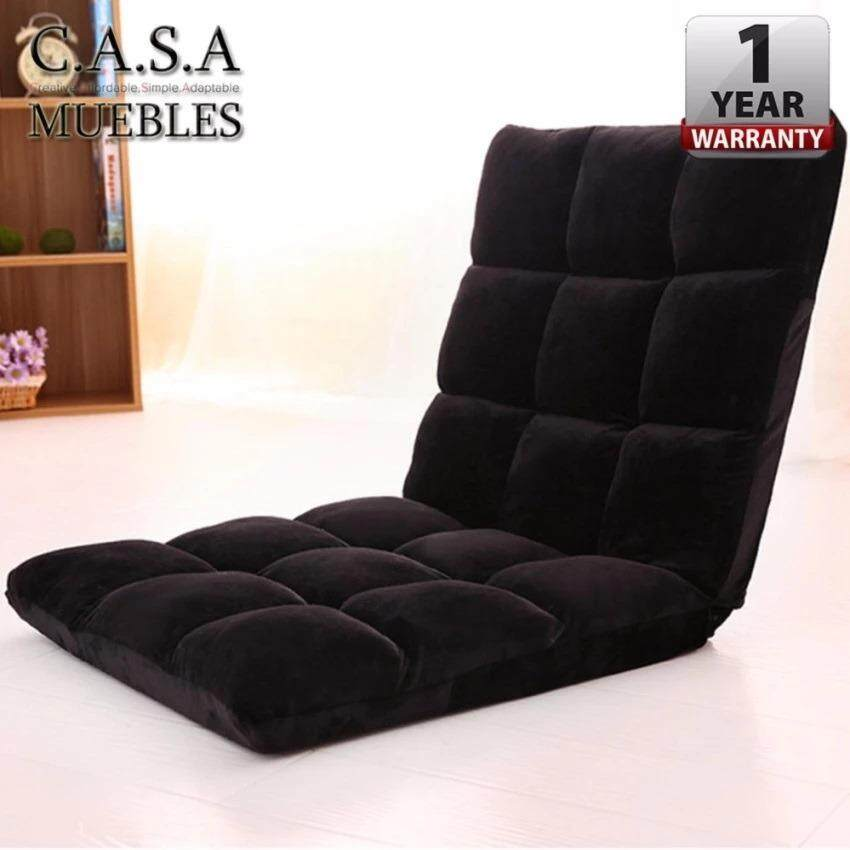 CASA MUEBLES: [110 Cm X 40 ] Foldable Adjustable Reclining Futon Long Sofa  Chair