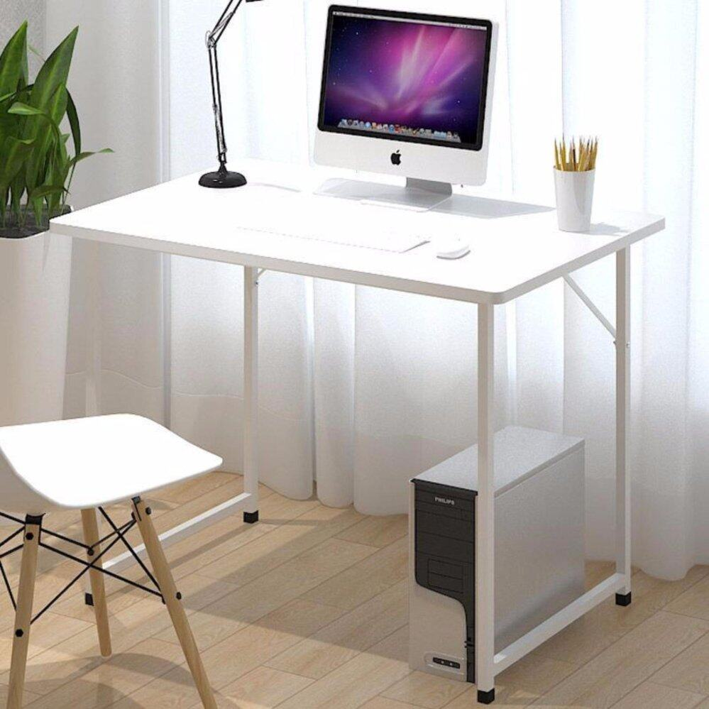 office desks for home use. casa simple computer desk pc laptop table workstation study home office furniture white