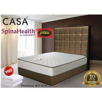 "Harga Casa SpinaHealth Goodnite 8.5"" Queen ishape Spring Mattress only(10 year warranty)"