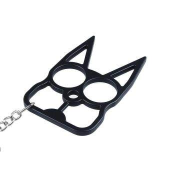 SaiDeng Cat Self Defense Keychain - Black