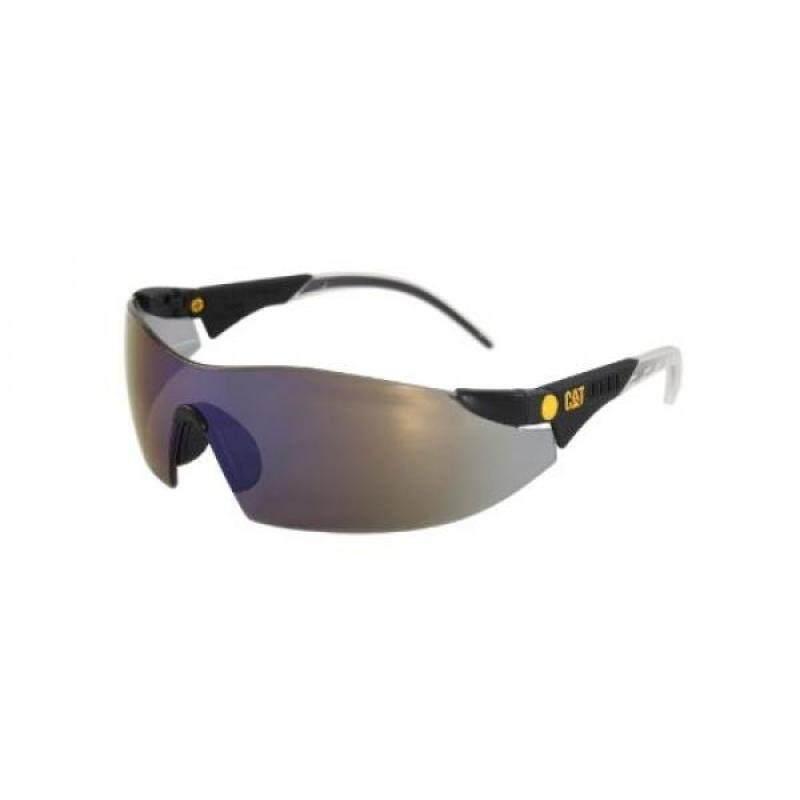 Caterpillar Dozer Safety Glasses, Black, Smoke