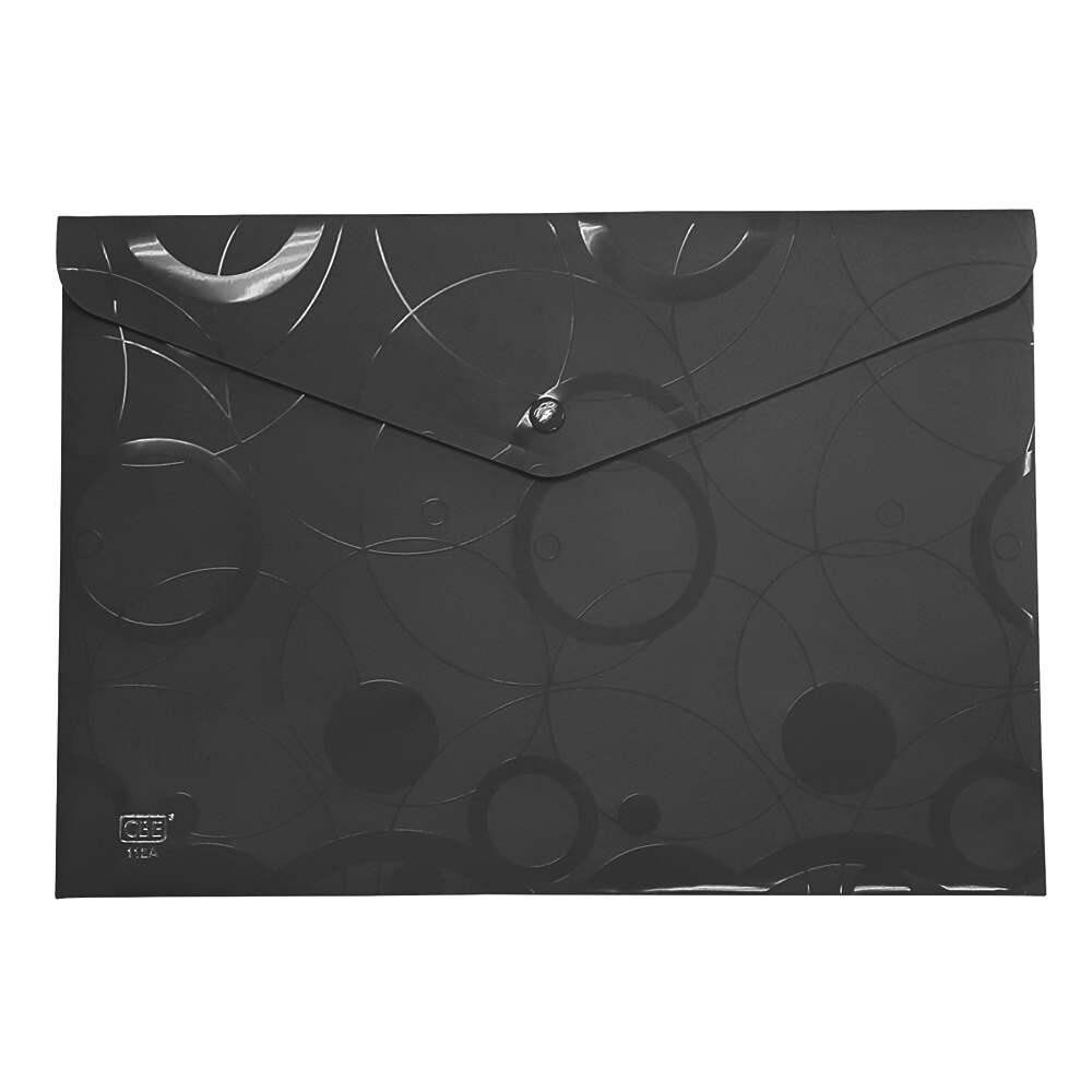 CBE 112A Document Holder W/Button-black
