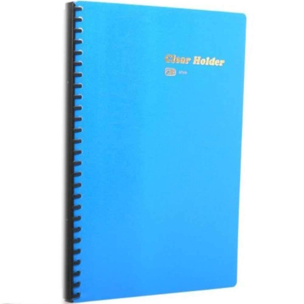 CBE 86030 Refillable PP/Clear Holder BLUE (Item No: B10-175BL)