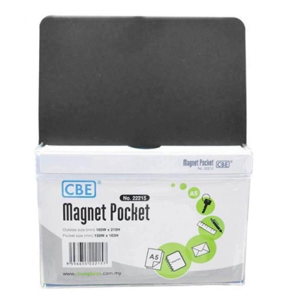CBE Magnet Pocket 22215 A5 - Black (Item No: B10-186B) A1R3B131