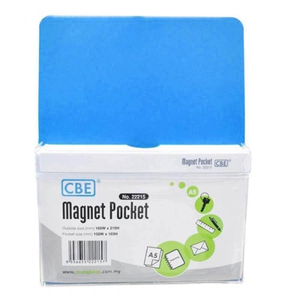 CBE Magnet Pocket 22215 A5 - Blue (Item No: B10-186L) A1R3B131