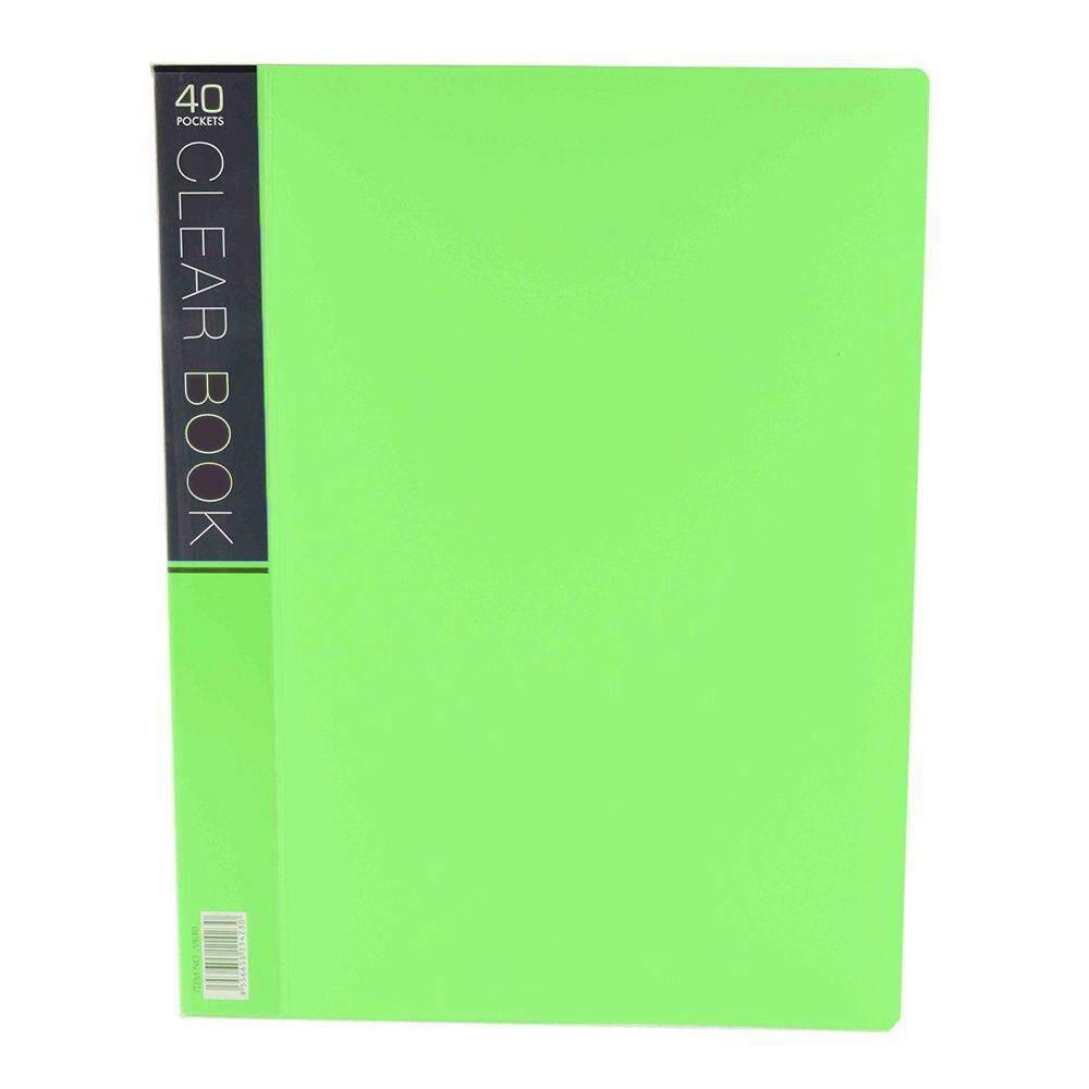 CBE Merry Colour Clear Book VK40 A4 - Green (Item No: B10-56 G) A1R5B27