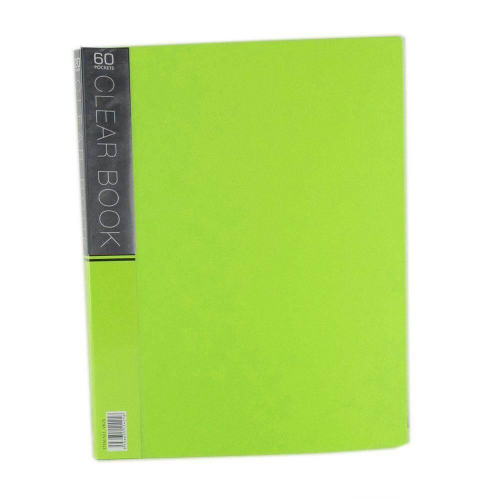 CBE Merry Colour Clear Book VK60 A4 GREEN ( ITEM NO : B10 57 G )