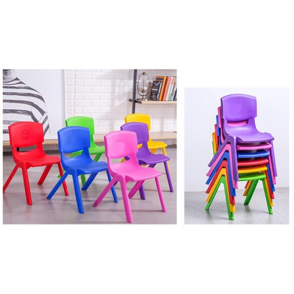 【Chair】Children kindergarden students counseling training school (radom color)