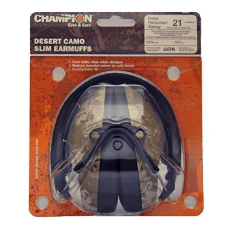 Champion Desert Camo Slim 21DB Earmuff