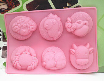 Harga Chocolate constellation silicone cake handmade soap Mold