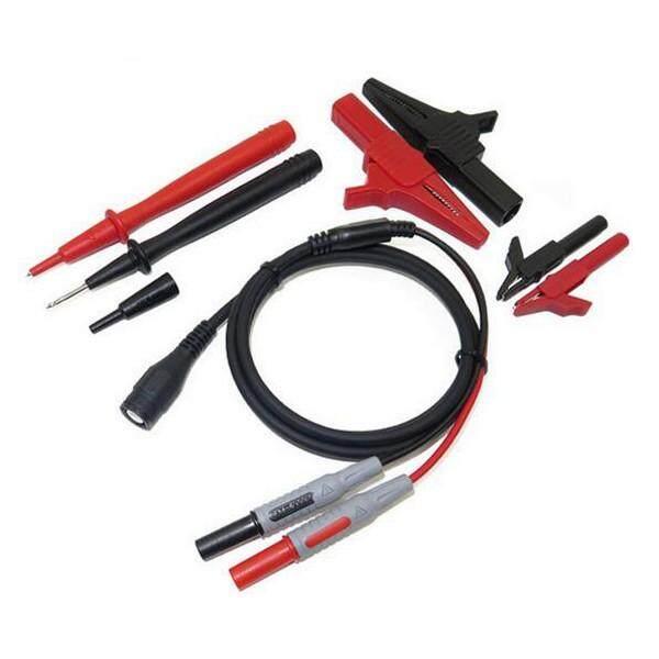 Cleqee P1800A 7-in-1 BNC Electronic Specialties Test Lead kit Automotive Test Probe Kit Universal Multimeter probe leads kit - intl