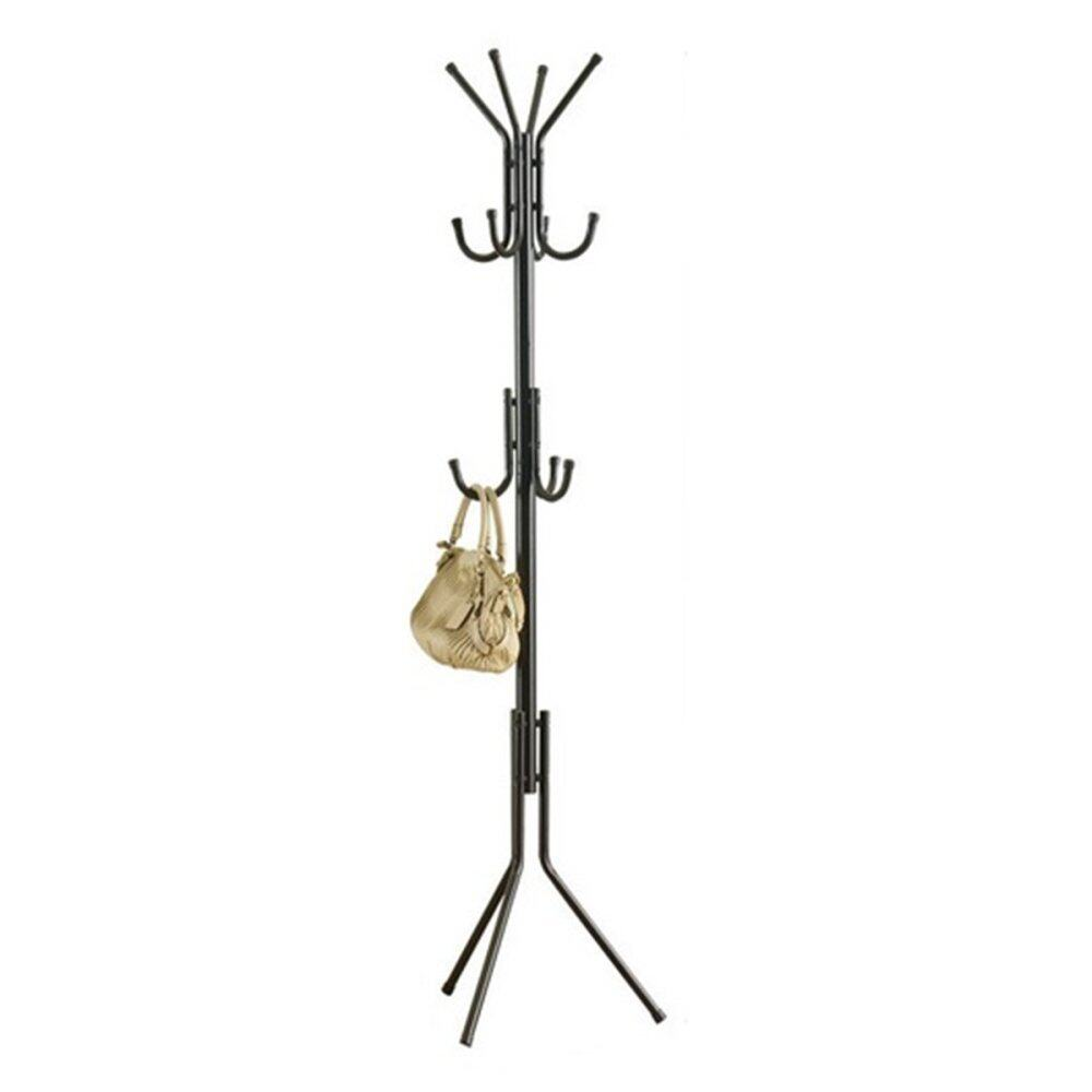 Clothes Hanger Coat Stand Yjd (black) Lazada Malaysia
