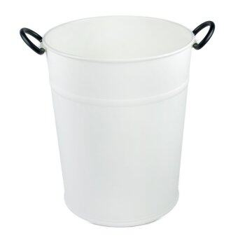 Clover White Dustbin