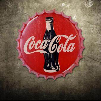 Coca Cola cap Vintage Wall Decor Retro Metal ART Wall Decoration