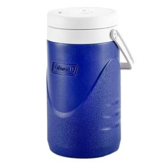 Harga Coleman 1/2 Gallon / 1.9L Polylite Cooler Jug Durable Outdoor IceDrink Jugs (Blue)