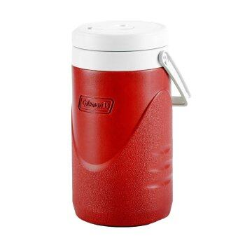 Harga Coleman 1/2 Gallon / 1.9L Polylite Cooler Jug Durable Outdoor IceDrink Jugs (Red)