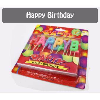 Colorful Candles Toothpick -Happy Birthday - 4