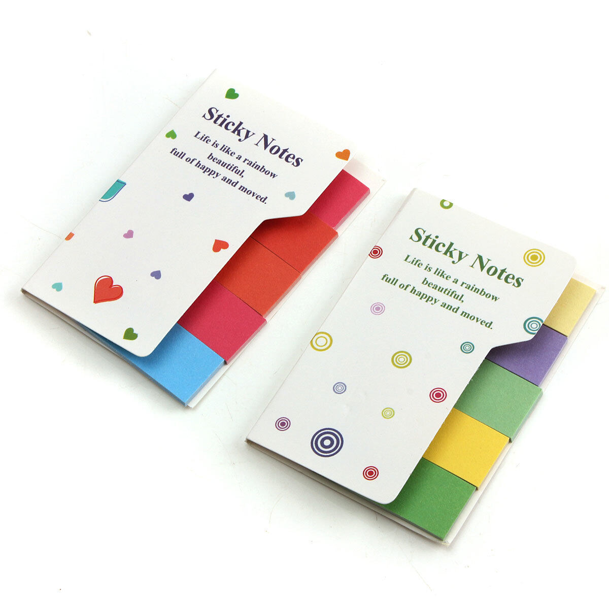 Colorful Mini Rainbow Sticker Bookmark Marker Flags Index Tab Sticky - intl .