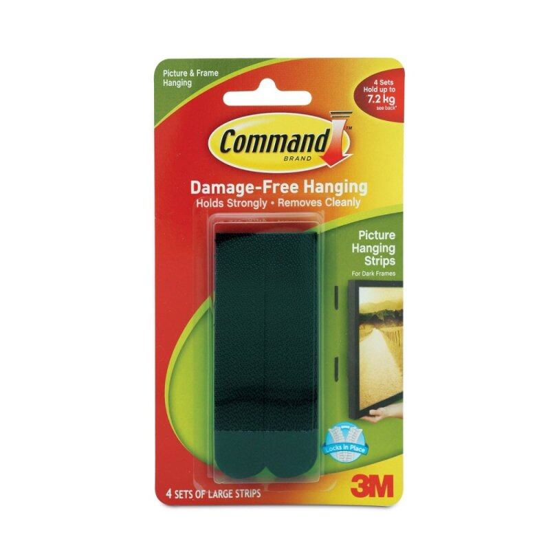 Buy Command™ Black Large Picture Hanging Strips Malaysia