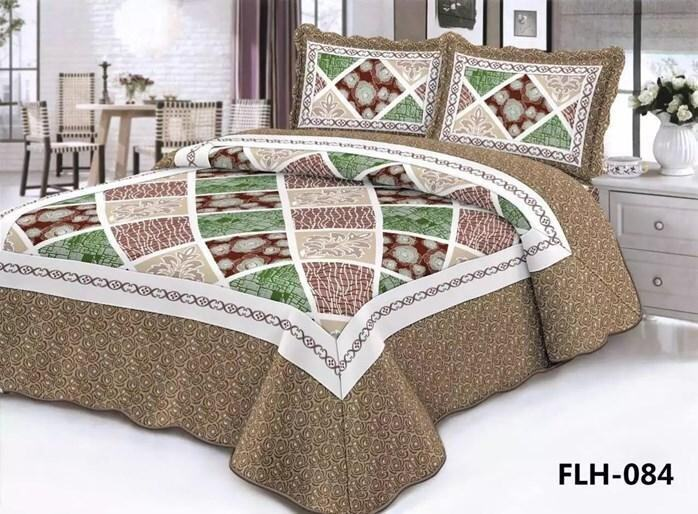 CONTEMPORARY DESIGN 3PC SET PATCHWORK FLH084