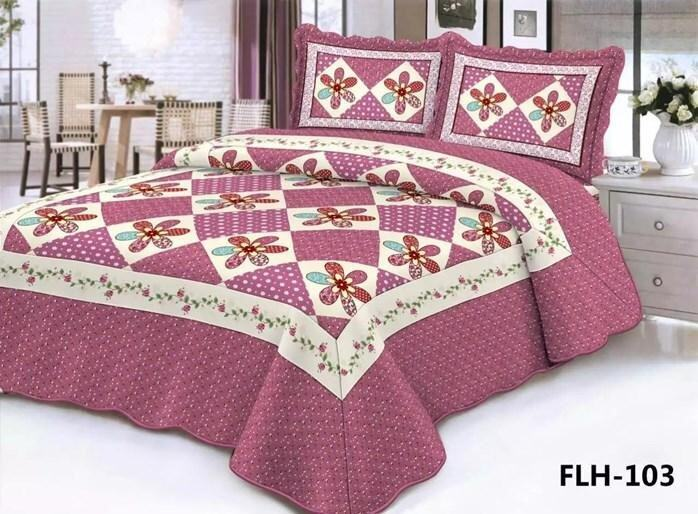 CONTEMPORARY DESIGN 3PC SET PATCHWORK FLH103