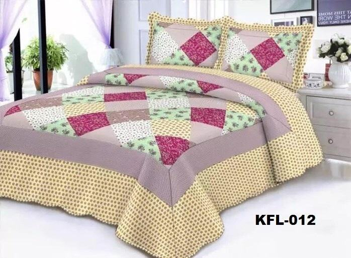 CONTEMPORARY DESIGN 3PC SET PATCHWORK KFL012