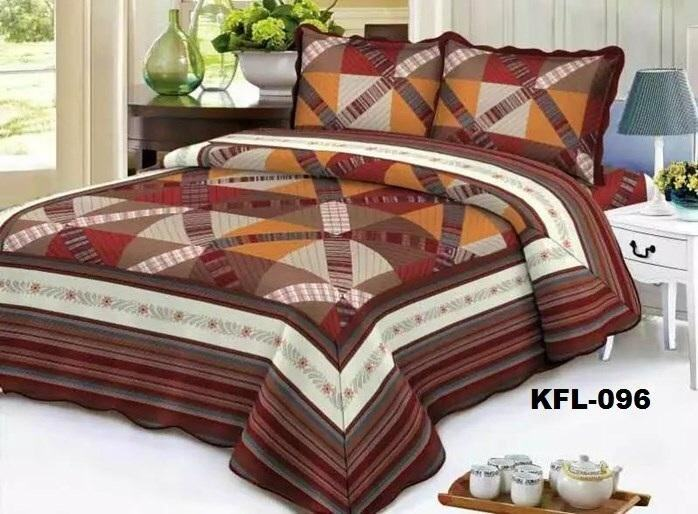 CONTEMPORARY DESIGN 3PC SET PATCHWORK KFL096