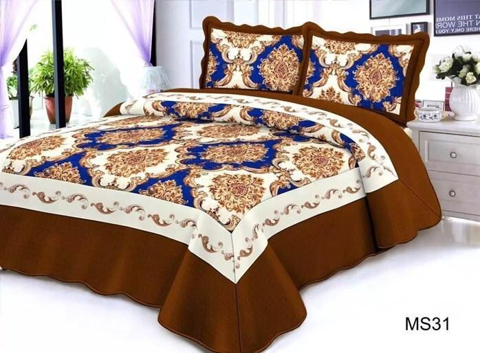 CONTEMPORARY DESIGN 3PC SET PATCHWORK MS31