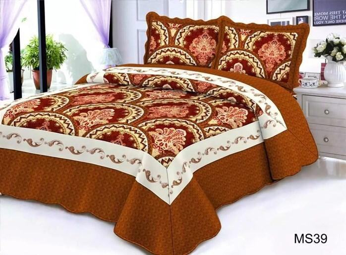 CONTEMPORARY DESIGN 3PC SET PATCHWORK MS39