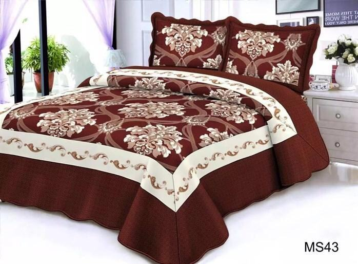 CONTEMPORARY DESIGN 3PC SET PATCHWORK MS43