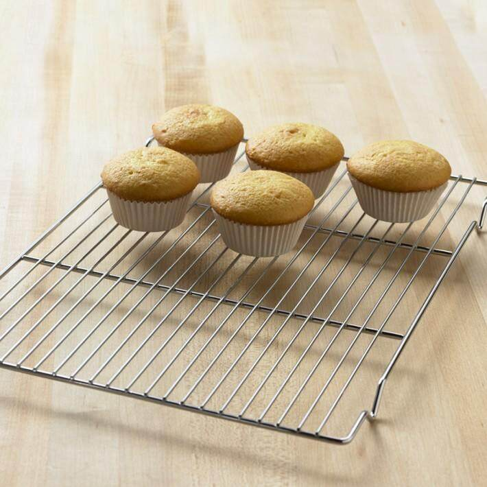Cooling Wire Rack Stainless Steel - 40 x 30cm [B-403]