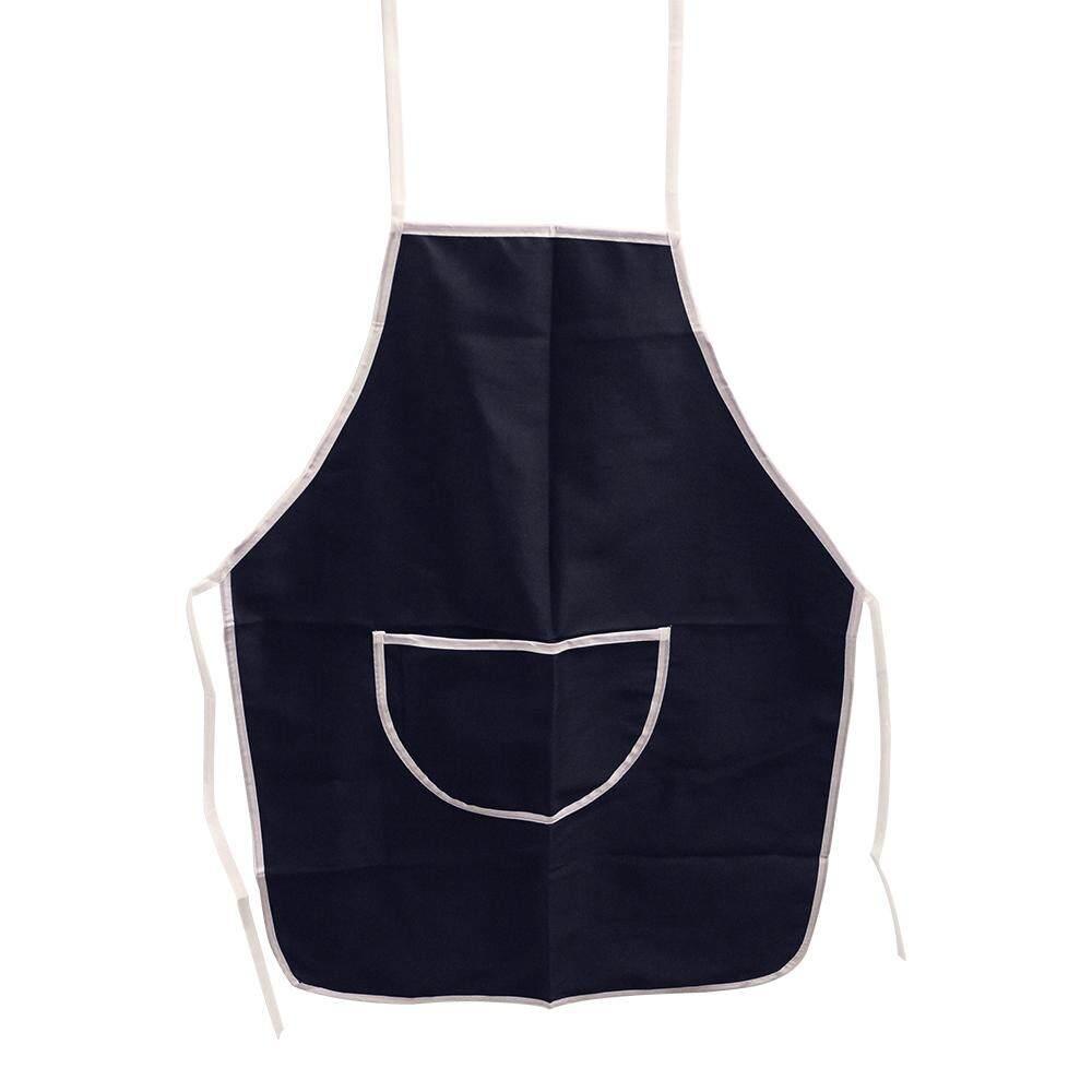 Cotton Apron PVC Layer - Navy Blue [9503N]