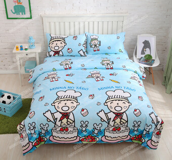 Harga Cotton chef hat pillowcase single piece bedsheet