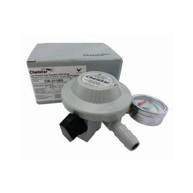 Buy Cr-Meter_Low Pressure Gas Regulator With Pressure Meter-Grey Malaysia