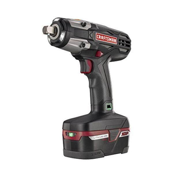 """Craftsman C3 ½"""" Heavy Duty Impact Wrench Kit Powered By 4ah XCP Cordless Tools High Torque - intl"""