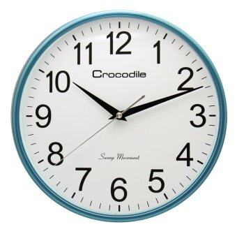 Harga Crocodile 11 inch Japan QUARTZ sweep seconds movement (silent mode)Standard office wall clock model CW7777GKS